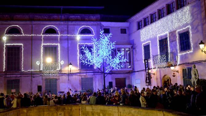 El Encendido Oficial De Las Luces De Navidad Marco Ayer El Comienzo